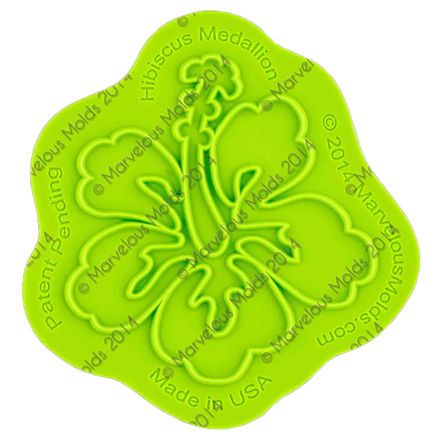 Hibiscus Silicone Onlay Mold