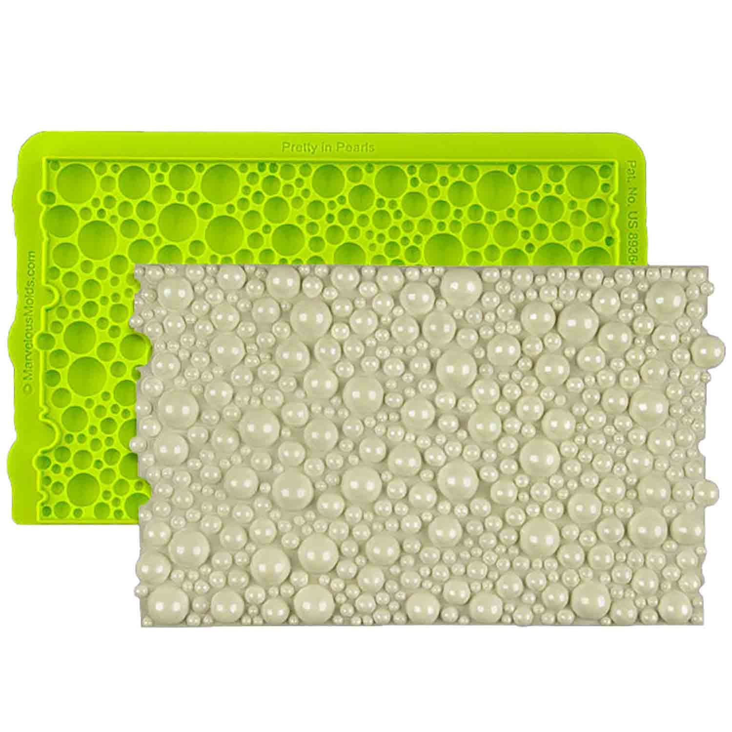 Pretty in Pearls Silicone Simpress Mold