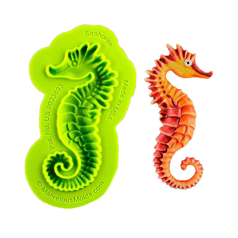 Seahorse Silicone Mold