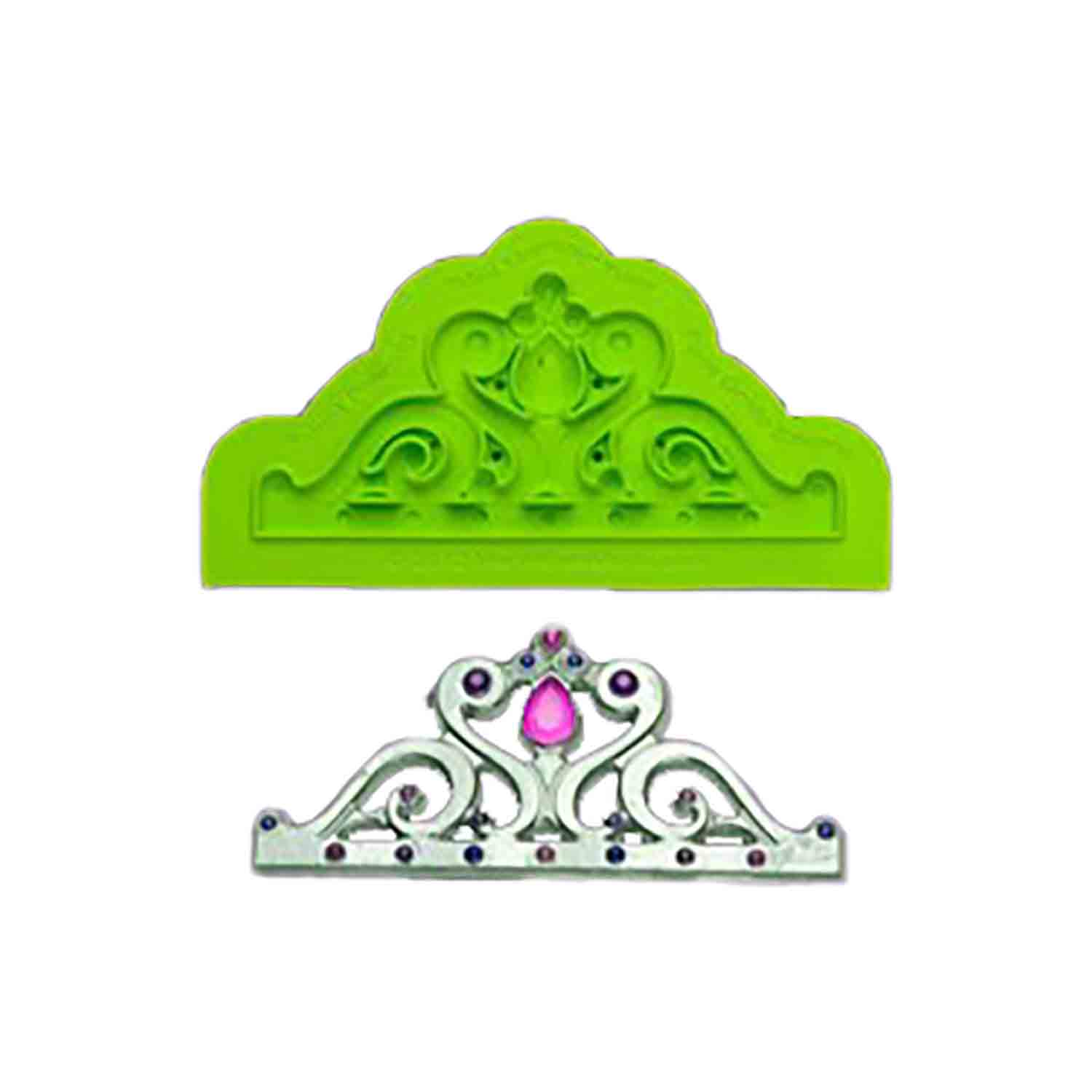 Mini Majestic Tiara Silicone Mold