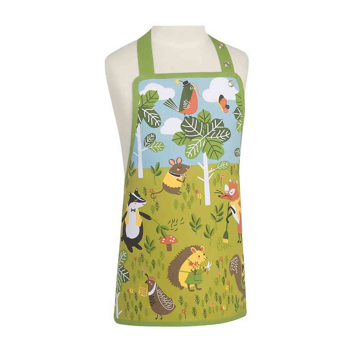 Kid's Apron - Critter Capers