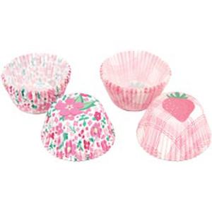Garden Strawberry Mini Baking Cups