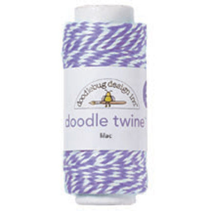 Lilac Doodle Twine