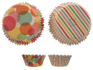 Modern Festive Mini Baking Cups