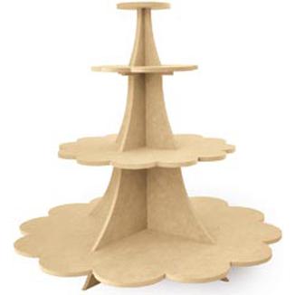 Cupcake Stand - Masonite