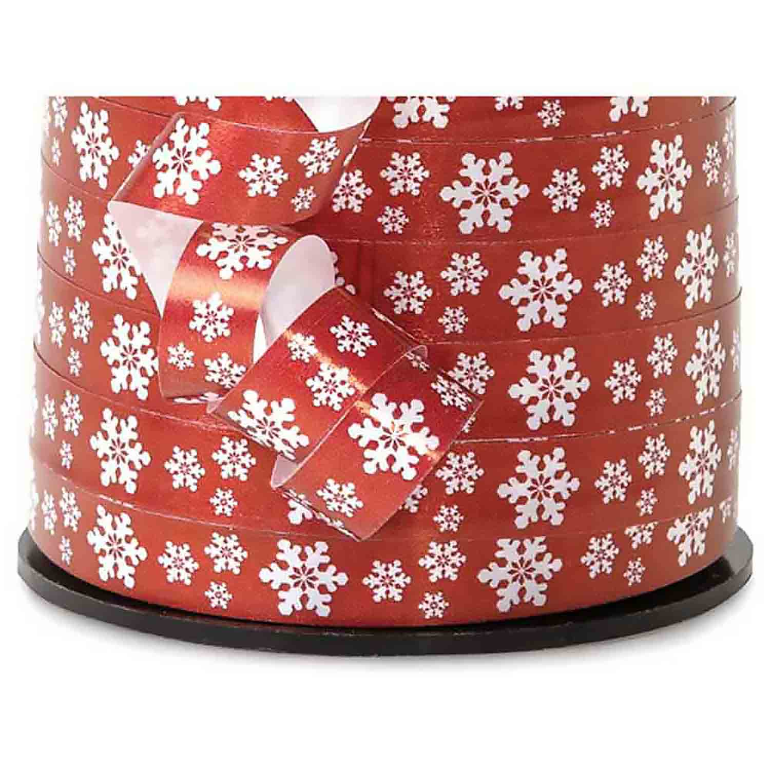 Curling Ribbon- Snowflakes