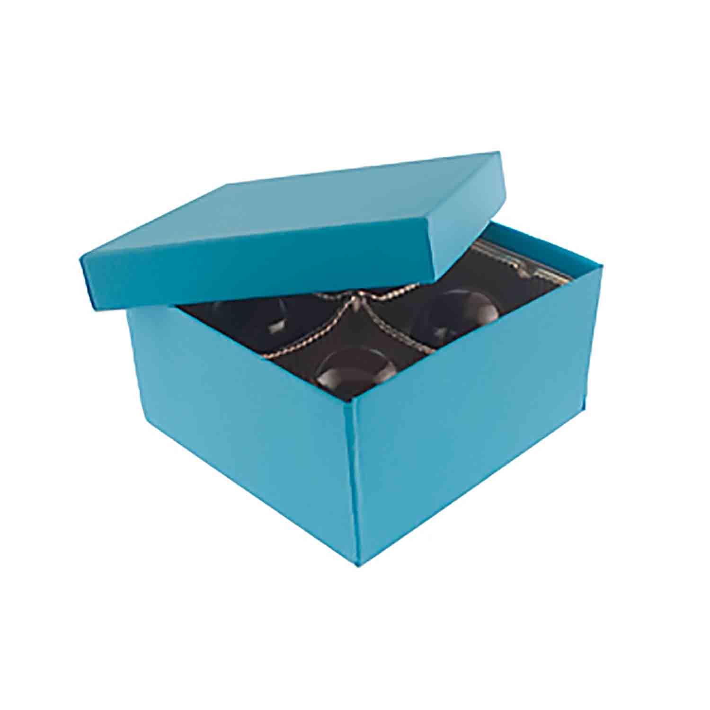 4 Pc. Blue Jazz Candy Box