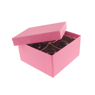 4 Pc. Calypso Pink Candy Box