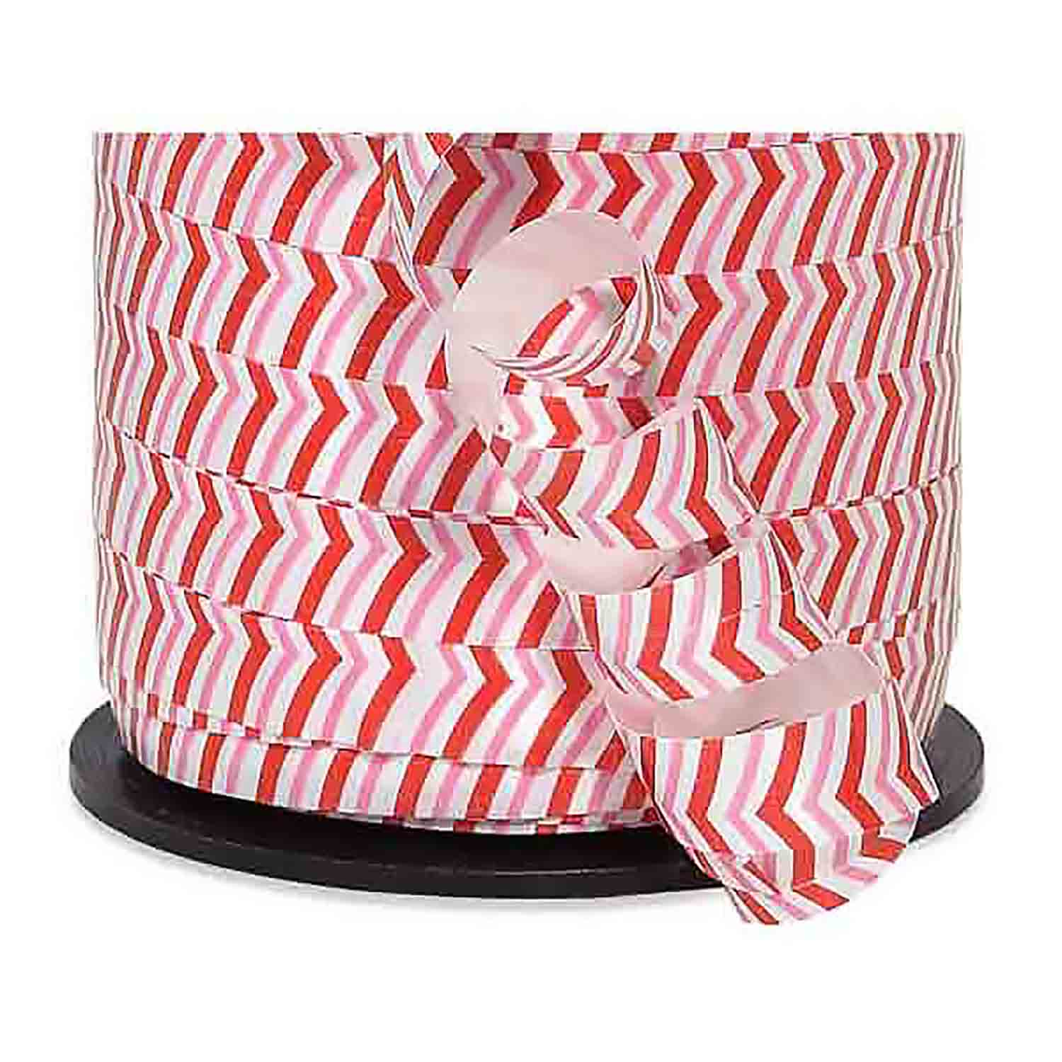 Curling Ribbon- Peppermint Stripe