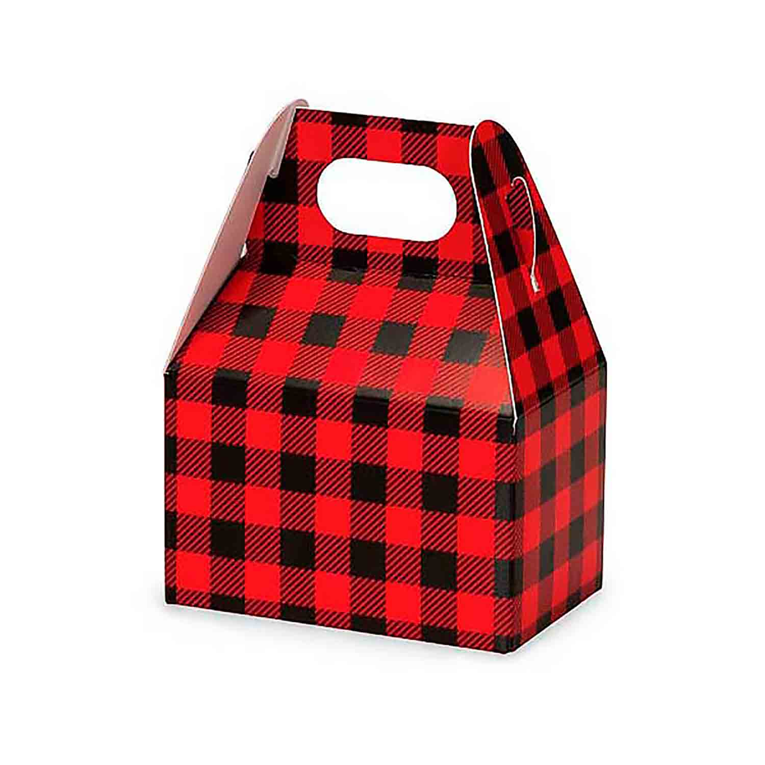 1/2 lb. Buffalo Plaid Mini Gable Box