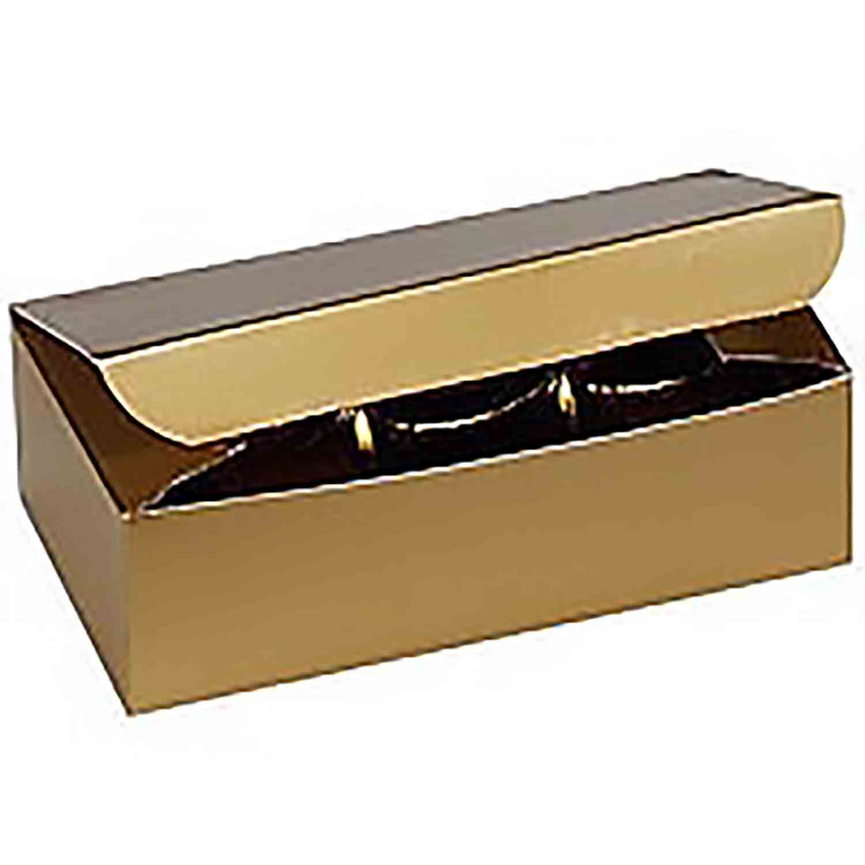 1/2 lb. Gold Candy Box