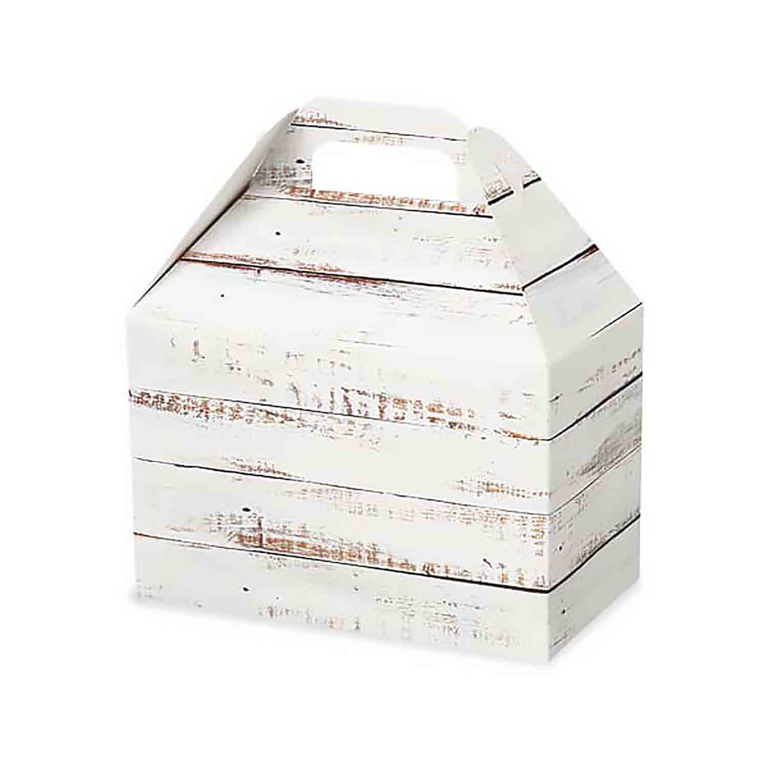 4 lb Distressed Wood Gable Box