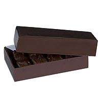 1/4 lb. Brown Candy Box