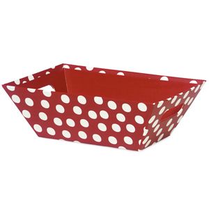 Peppermint Polka Dot Market Tray