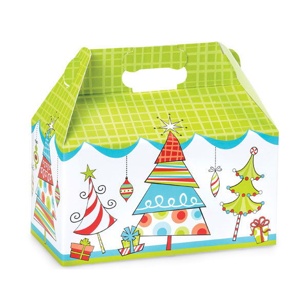 4 lb. Holiday Greetings Treat Box