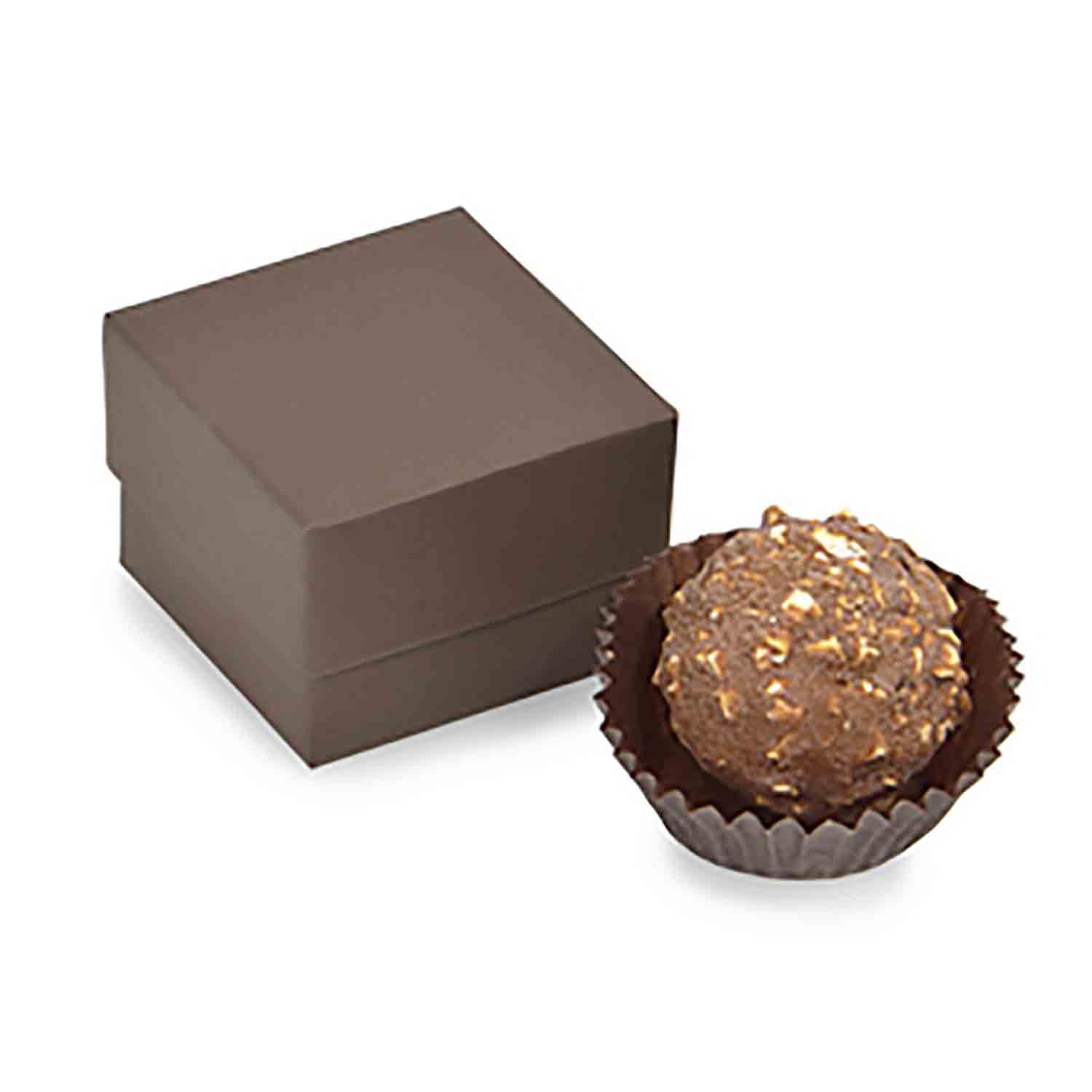 1 Pc. Chocolate Brown Candy Box