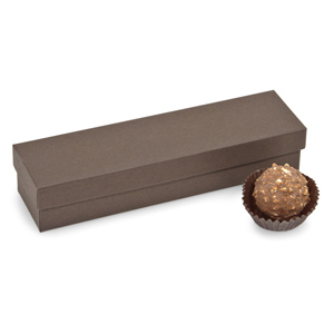 4-5 Pc. Chocolate Brown Candy Box