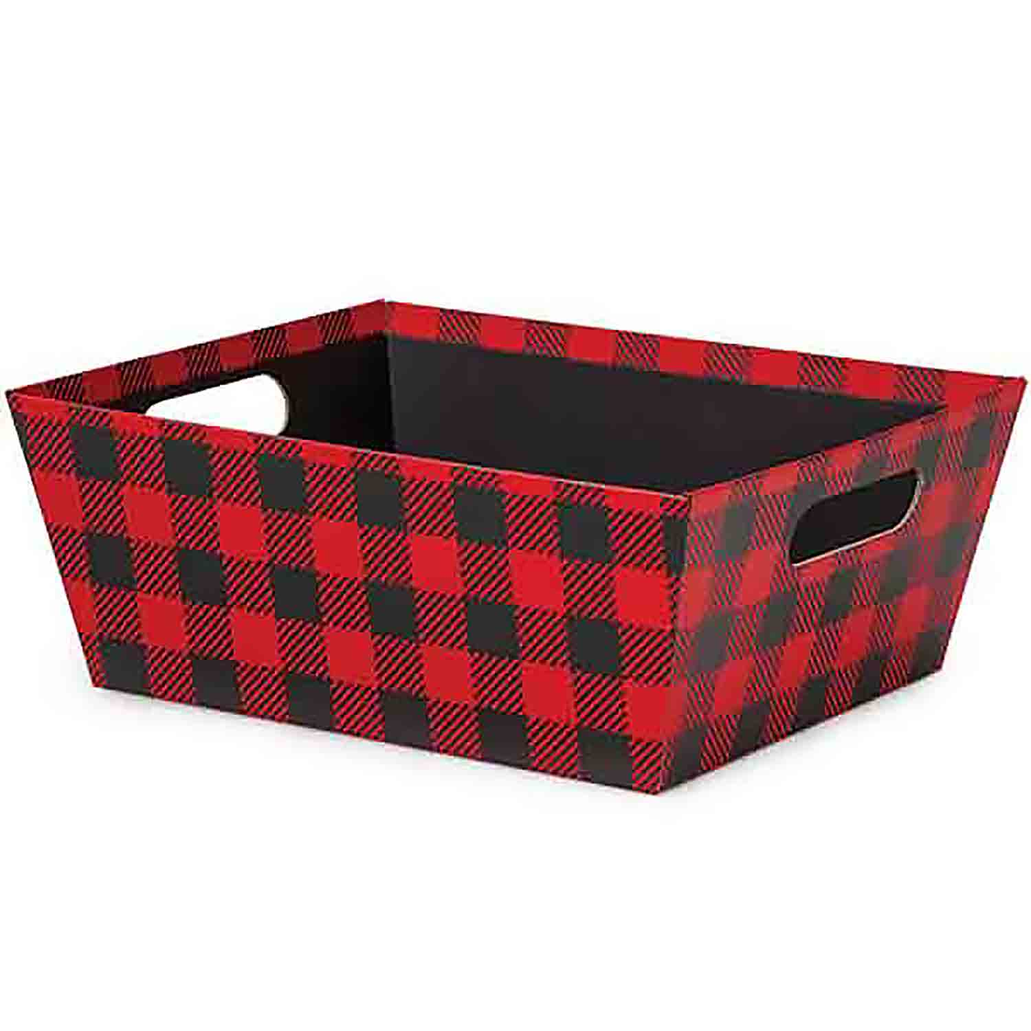 Buffalo Plaid Market Tray - Extra Large