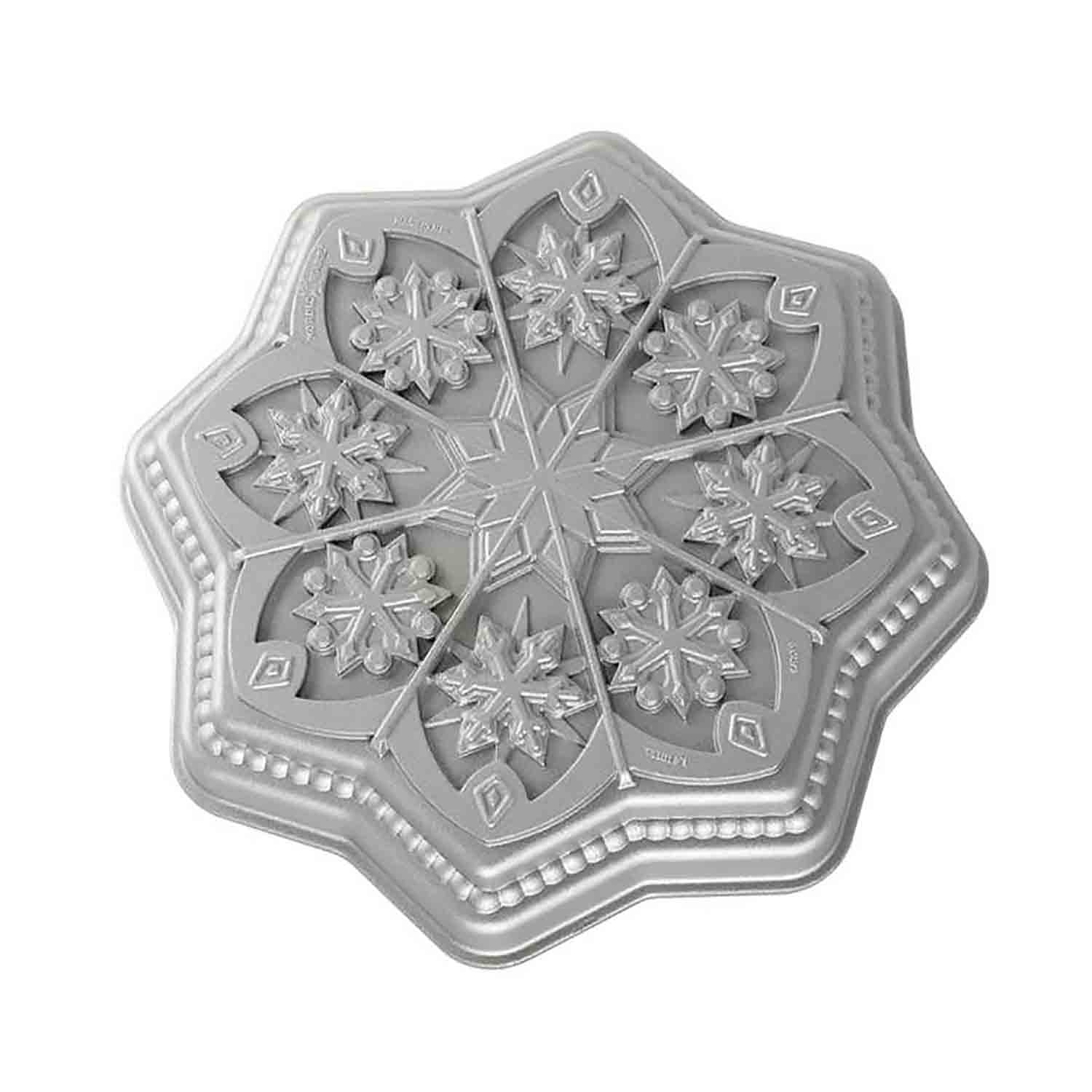 Sweet Snowflakes Shortbread Pan