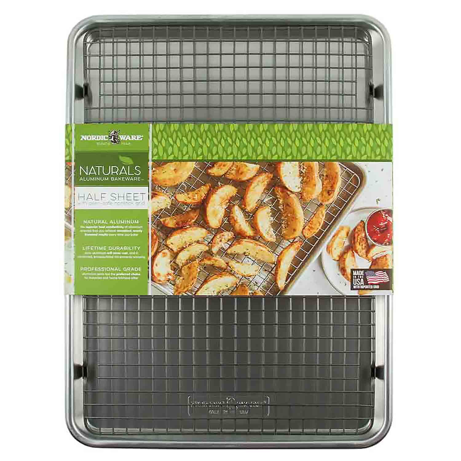 Half Sheet Pan and Grid Set