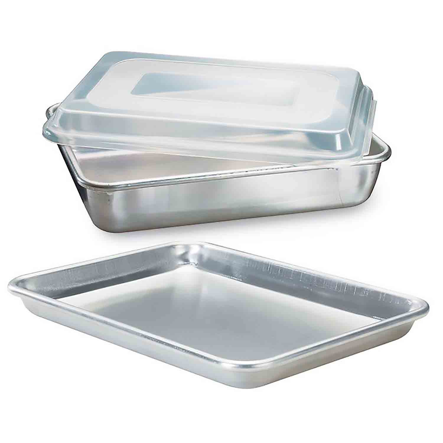 3 Pc. Baker's Set Rectangle Quarter Sheet Cake Pans