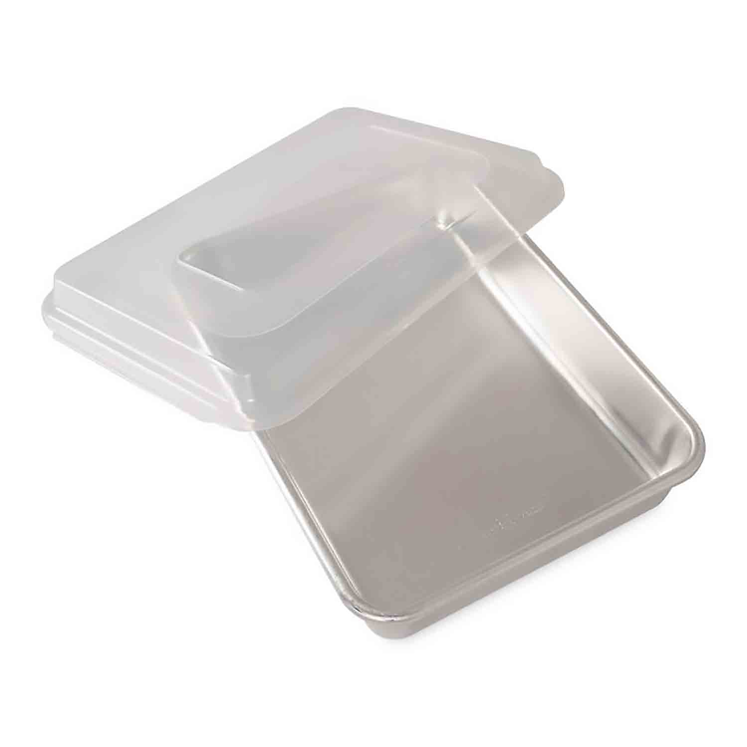 9 x 13 Quarter Sheet Cake Pan with Cover