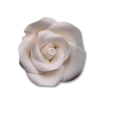 Large White Gum Paste Roses