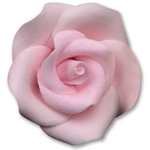 Medium Pink Gum Paste Roses