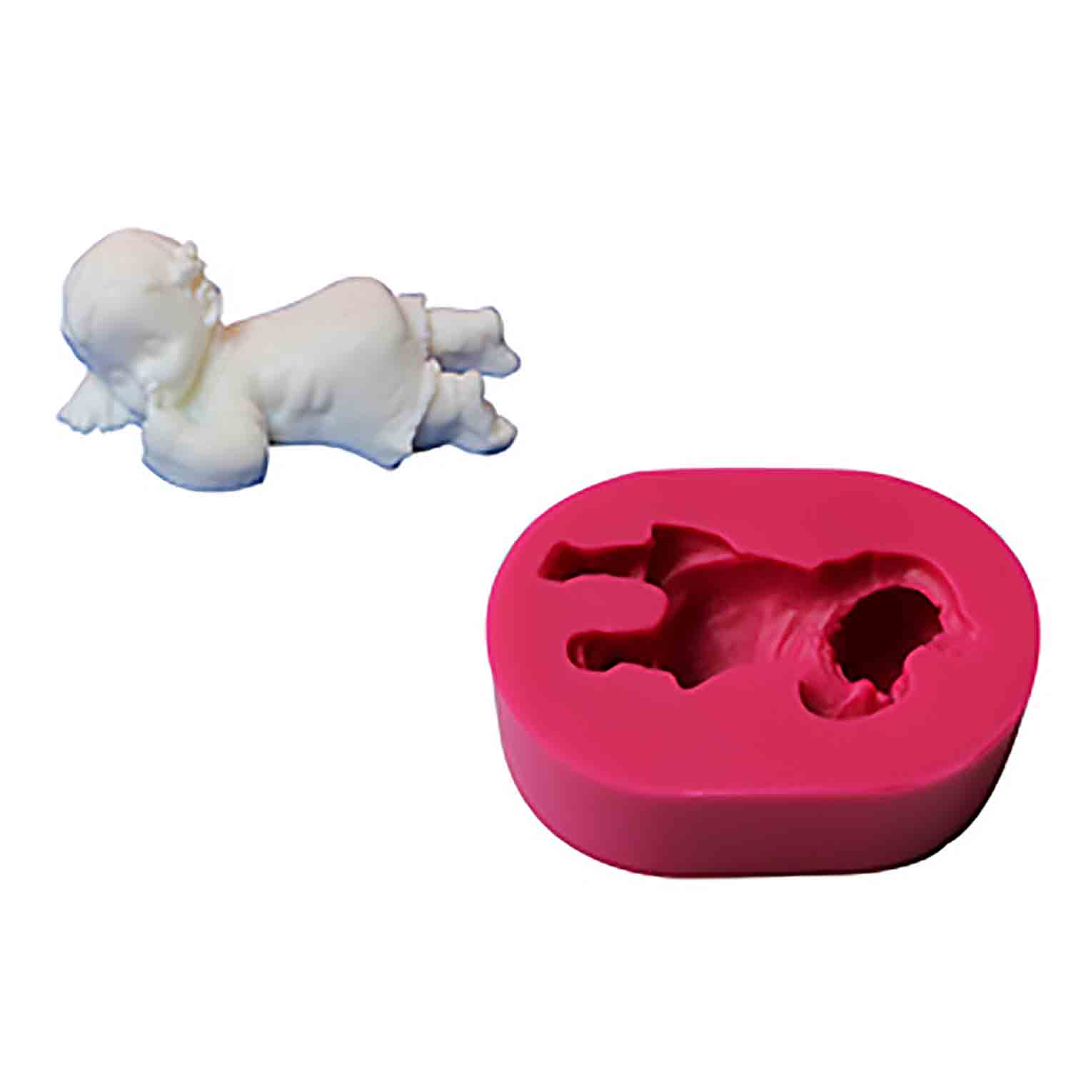 Sleeping Baby Silicone Mold