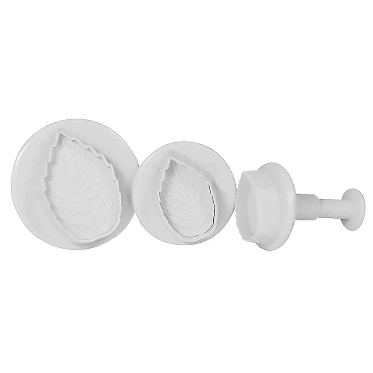 Rose Leaf Plunger Cutter Set