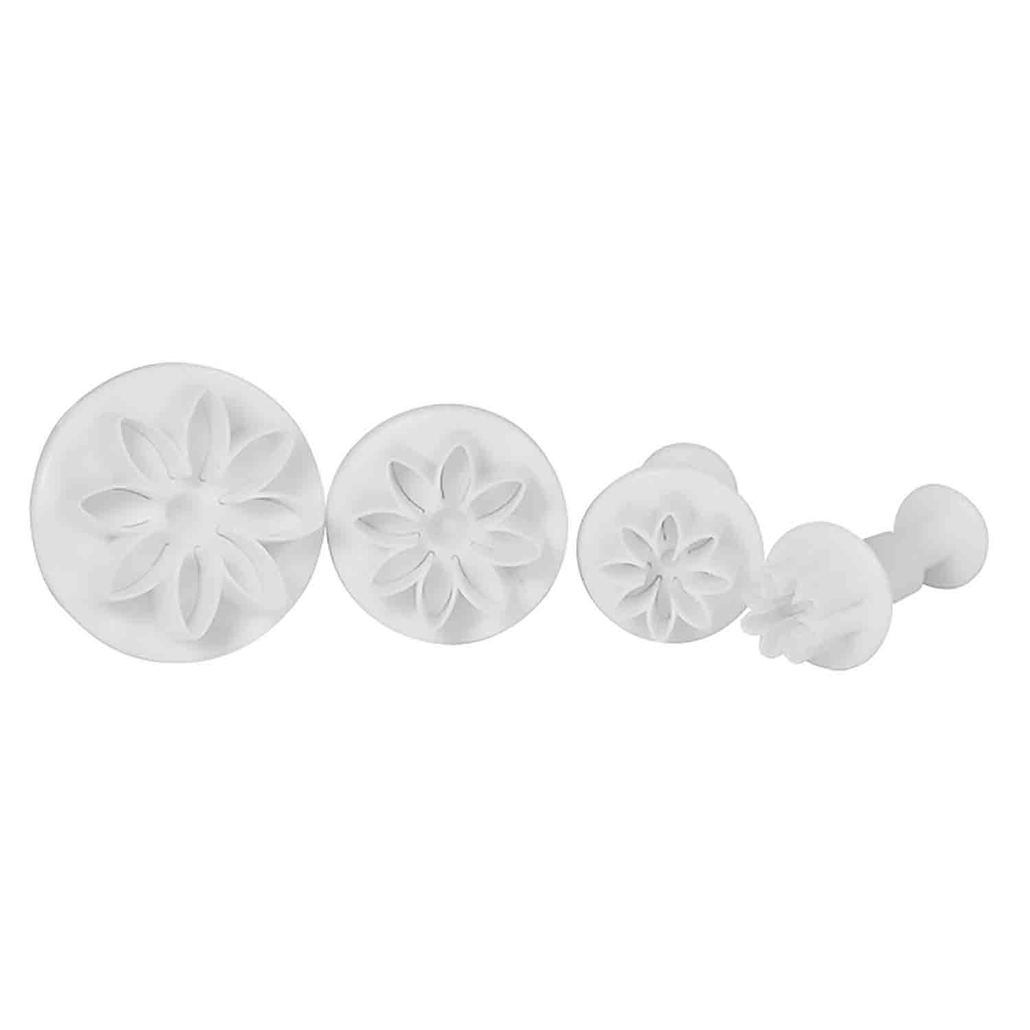 Plunger Fondant and Gum Paste Cutters