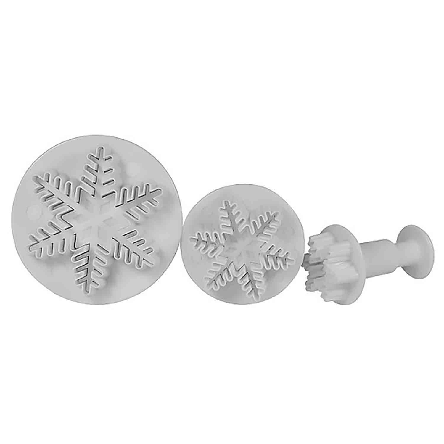 Snowflake Plunger Cutter Set