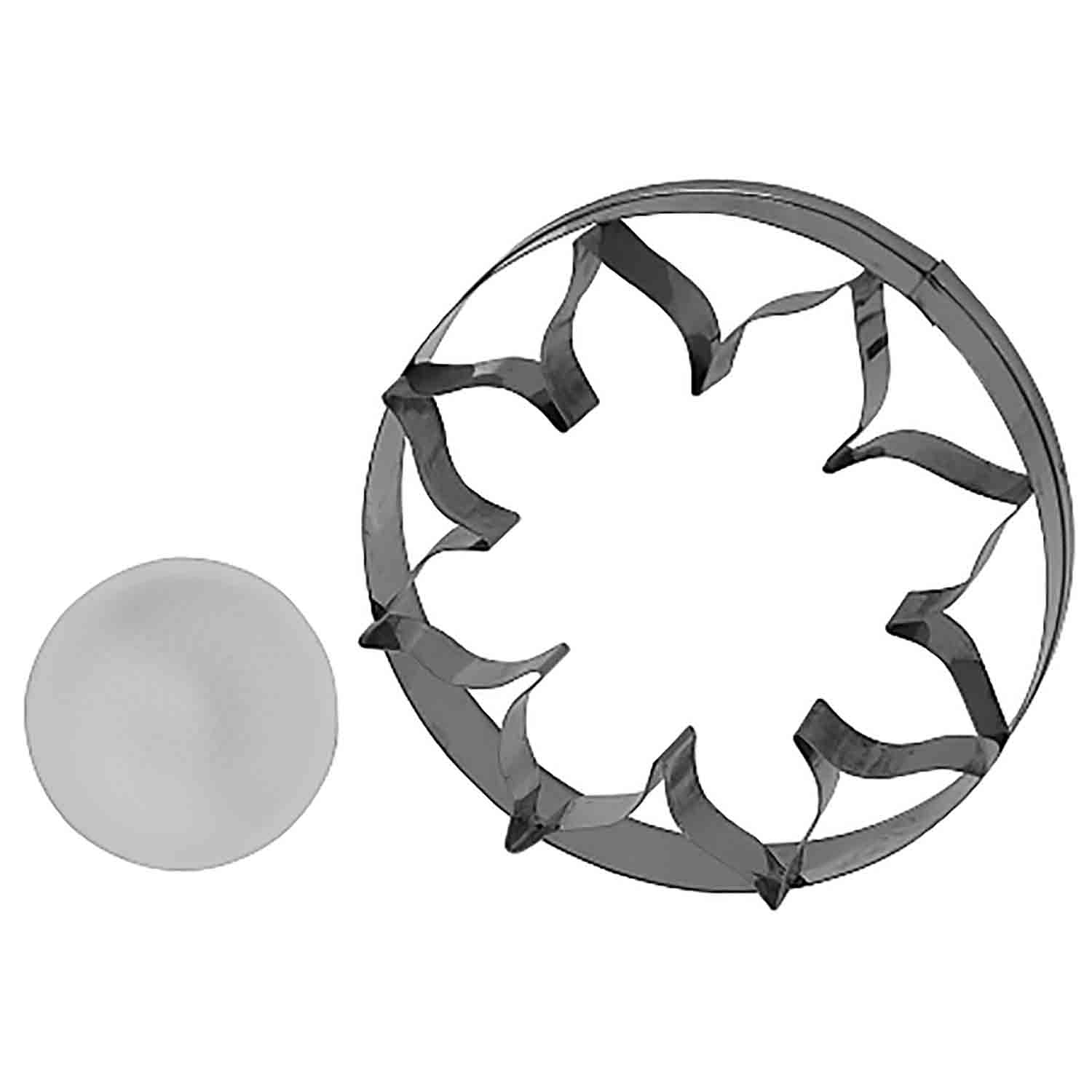 Sunflower Cutter and Veiner Set