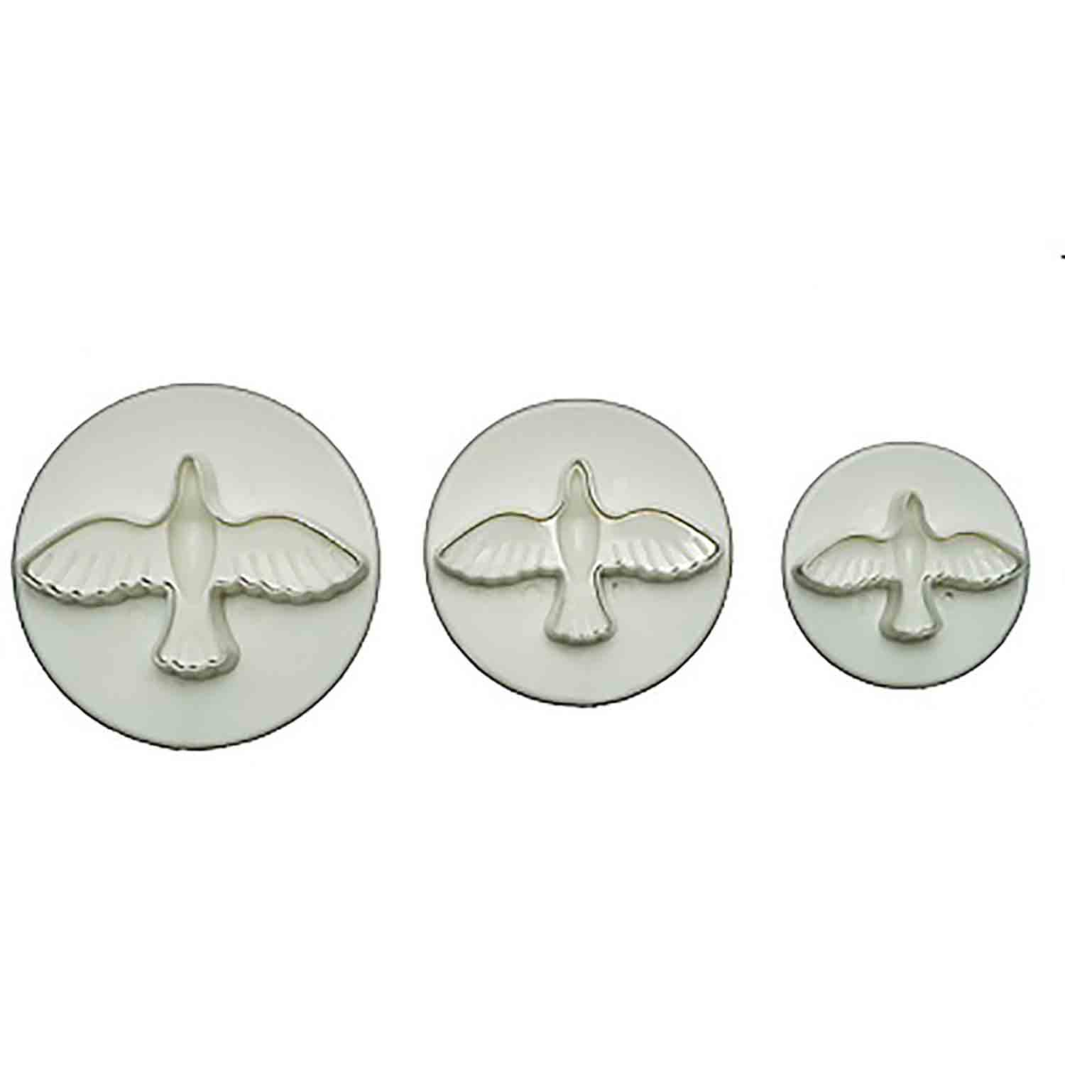 Small Dove Plunger Cutter Set
