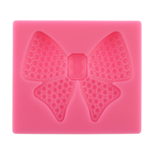 Diamond Encrusted Bow Silicone Mold