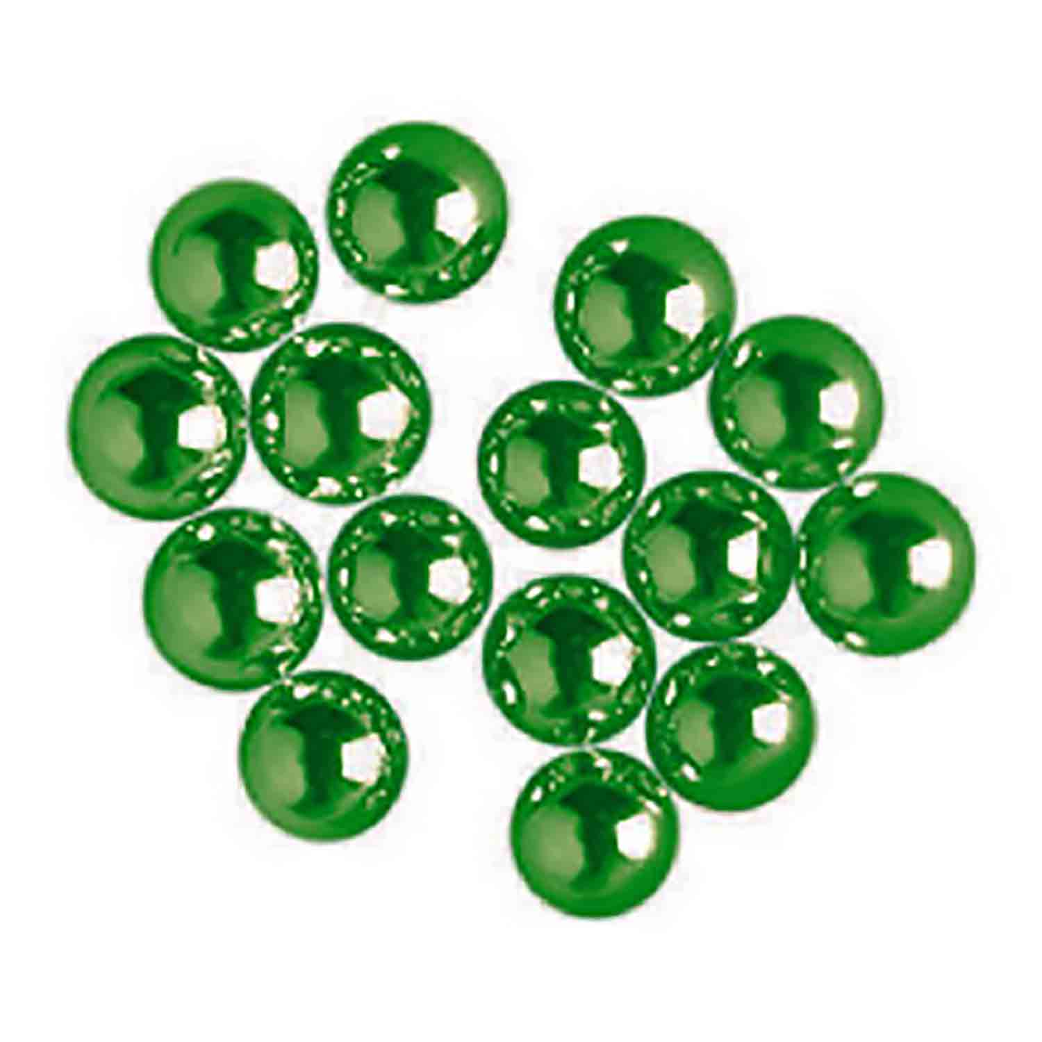 4mm Green Dragees