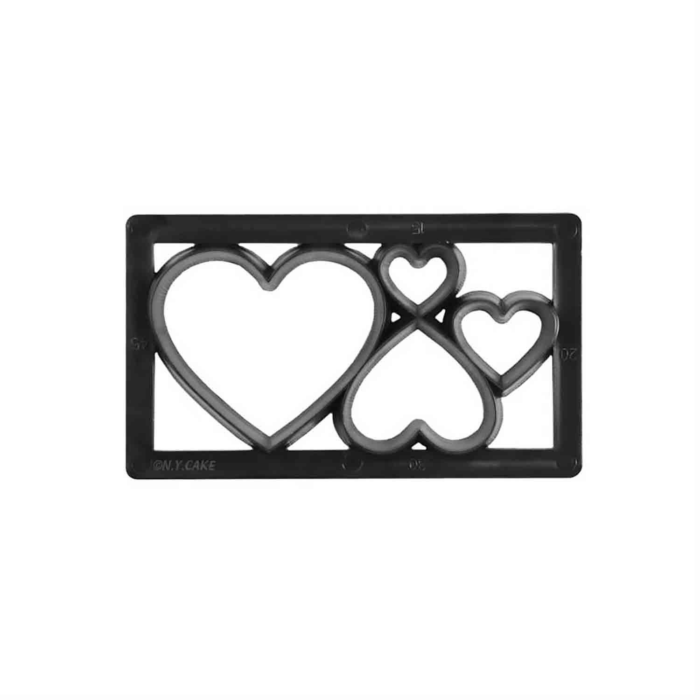 Heart Multi Cutter Strip
