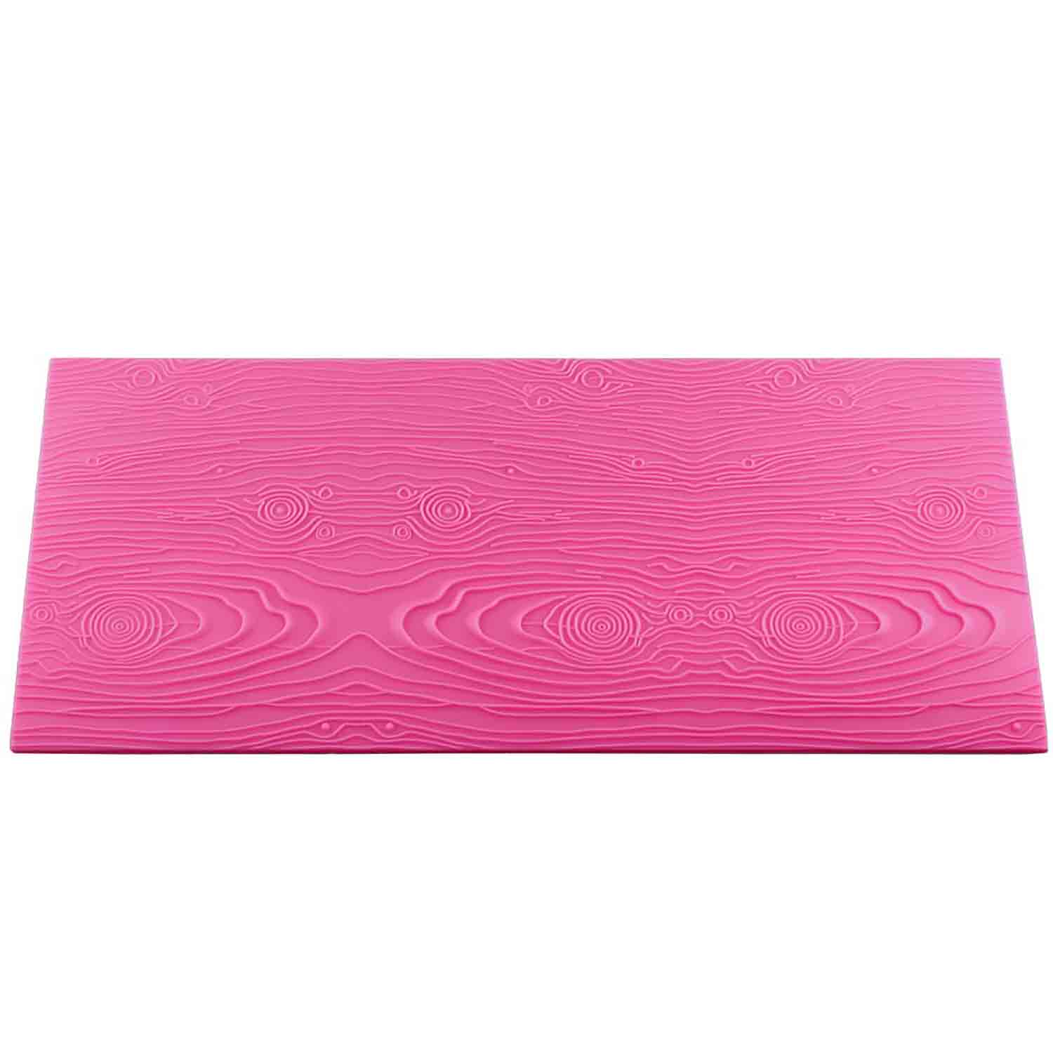 Wood Grain Silicone Texture Mat