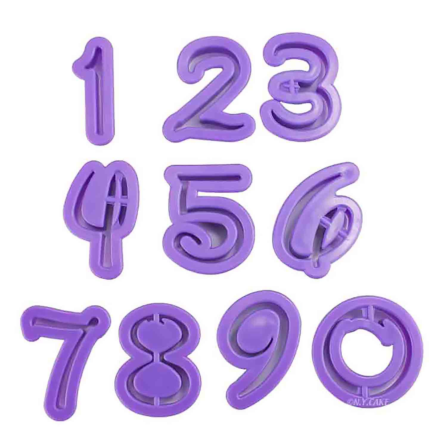 Whimsical Number Cutter Set