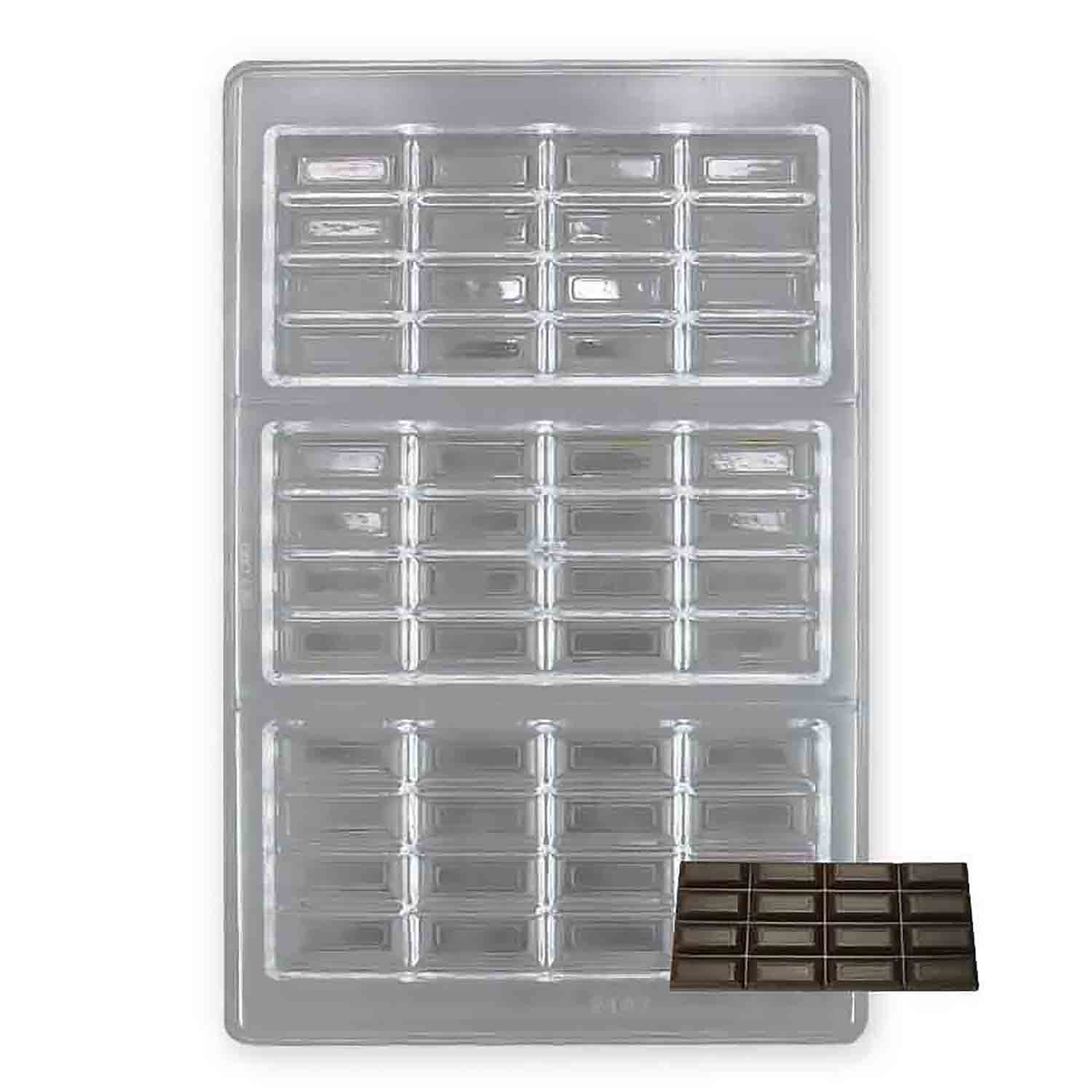 Large Break Away Polycarbonate Chocolate Candy Mold
