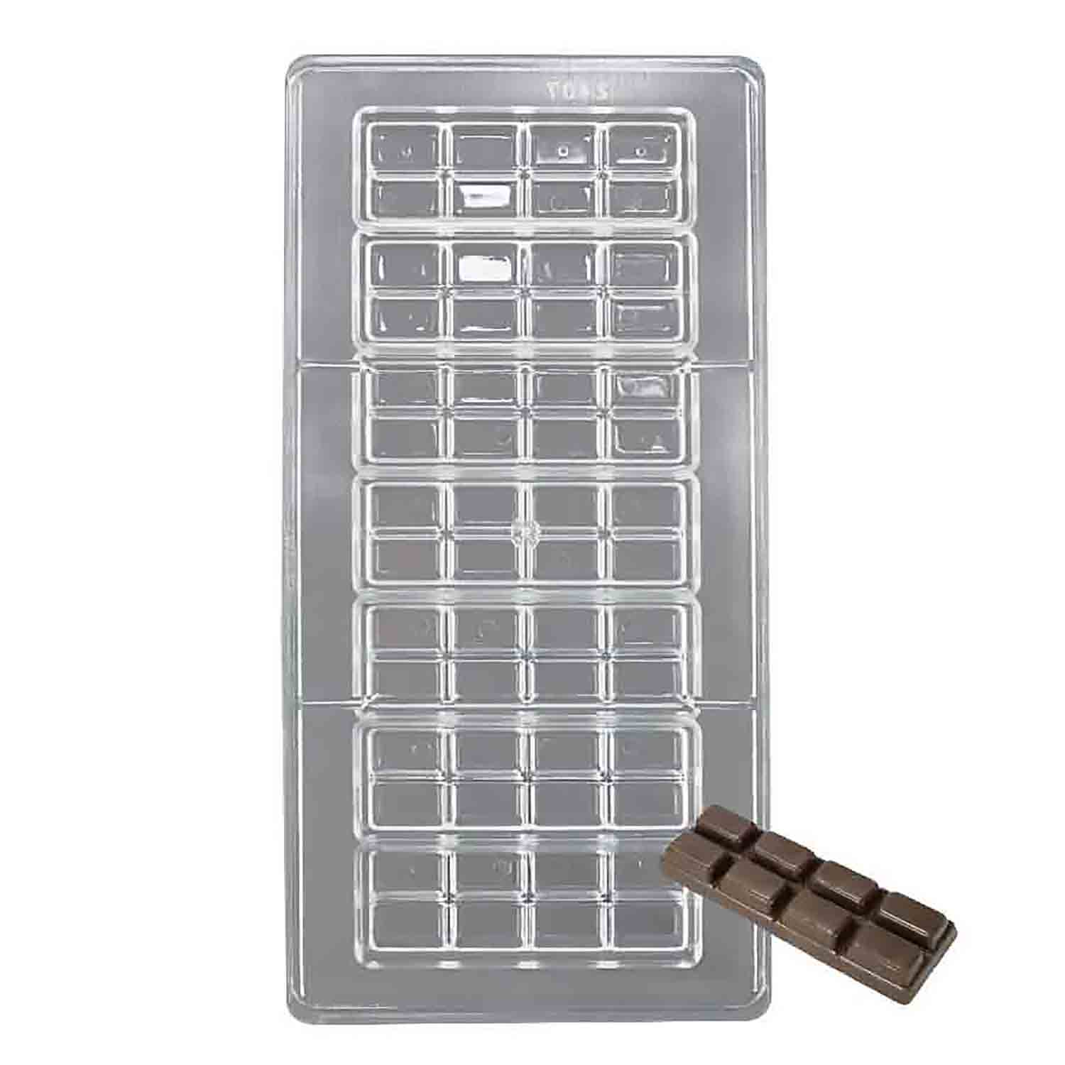Break Away Polycarbonate Chocolate Candy Mold