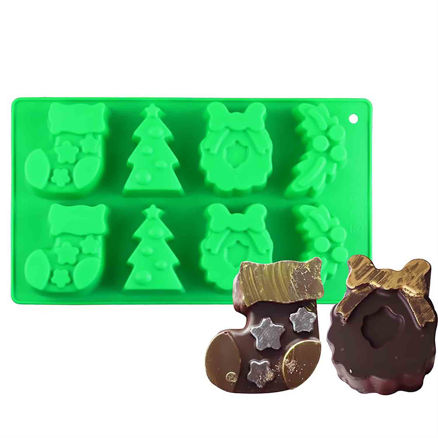 Christmas Silicone Treat Mold