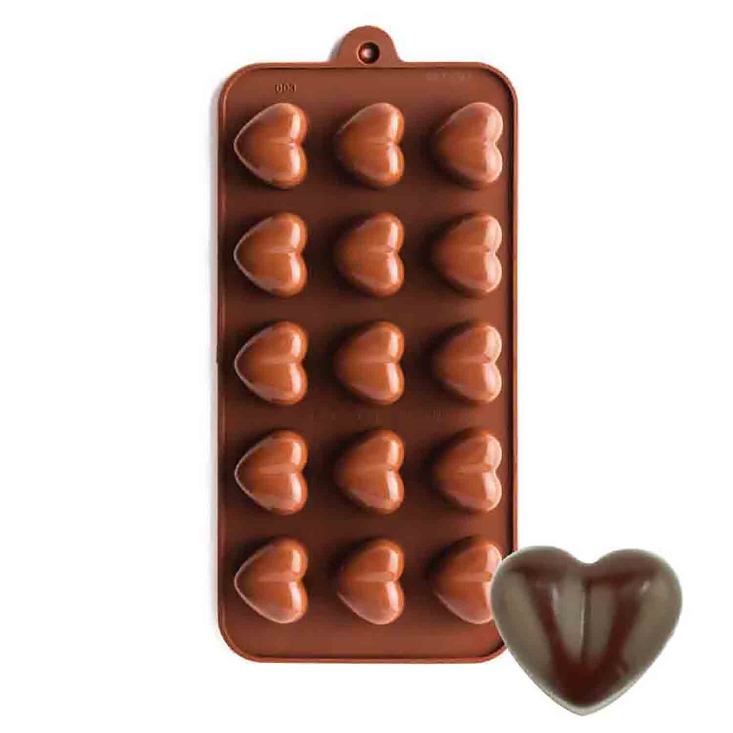 Heart Silicone Chocolate Candy Mold