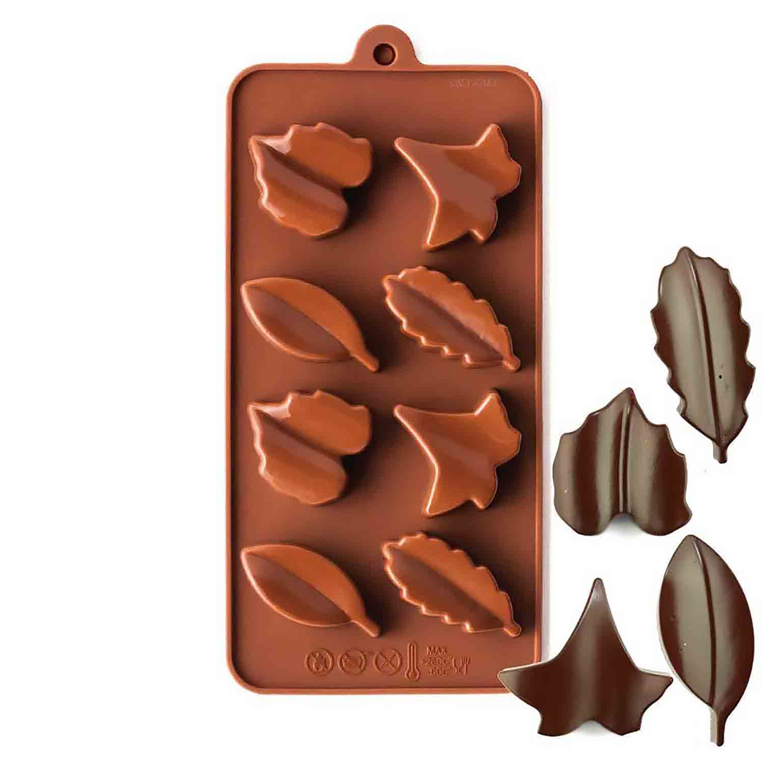 Leaves Silicone Chocolate Candy Mold