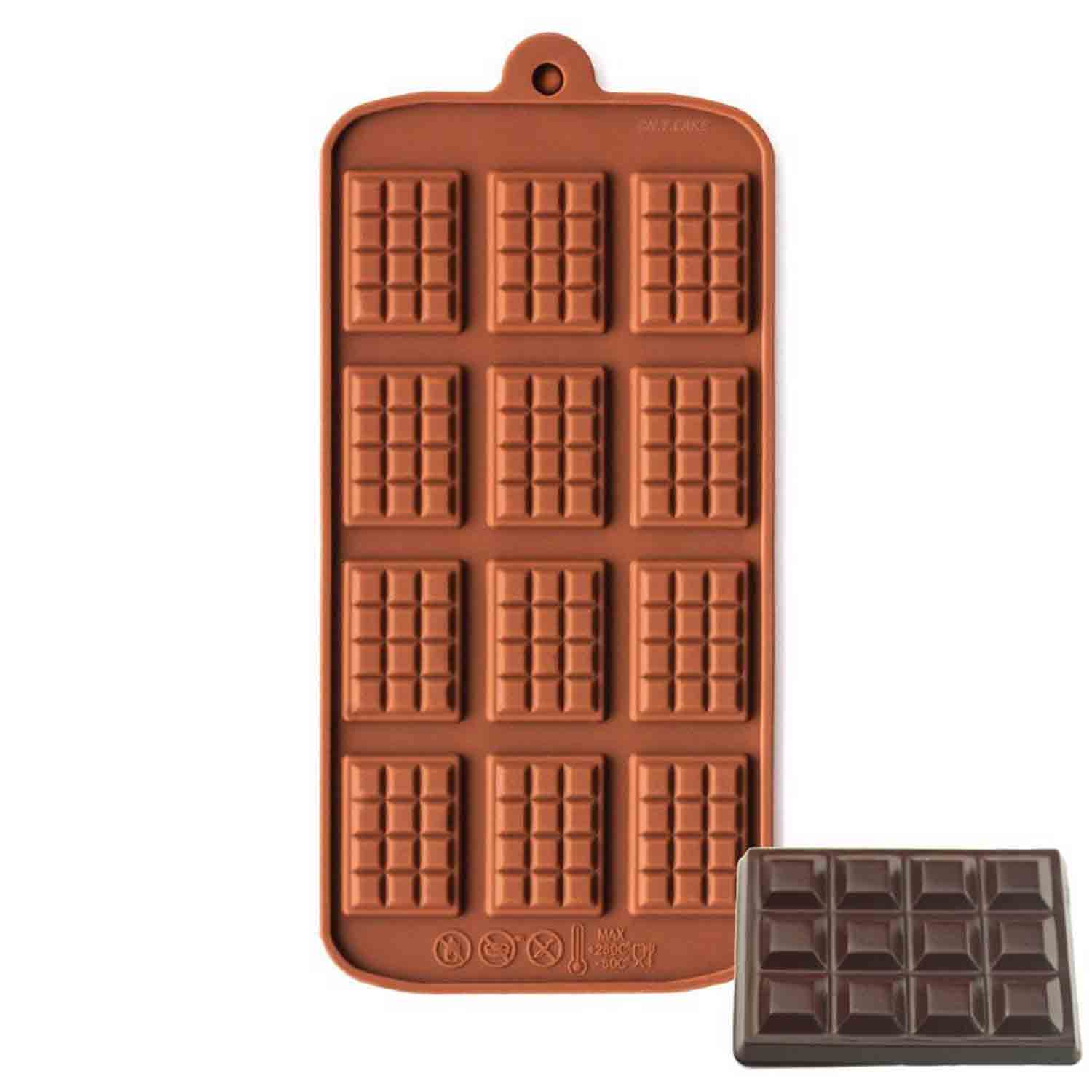 Breakaway Bar Silicone Chocolate Mold