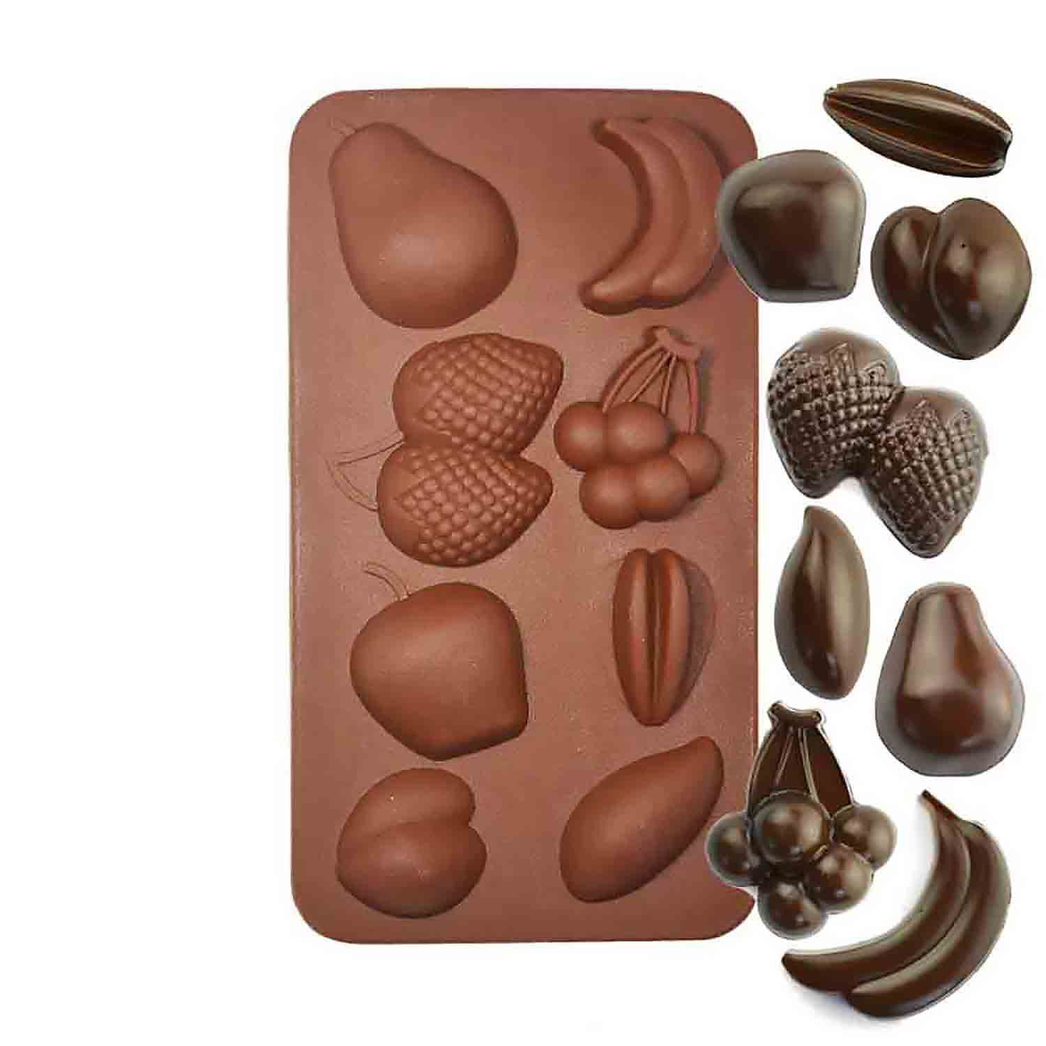 Fruit Silicone Chocolate Candy Mold