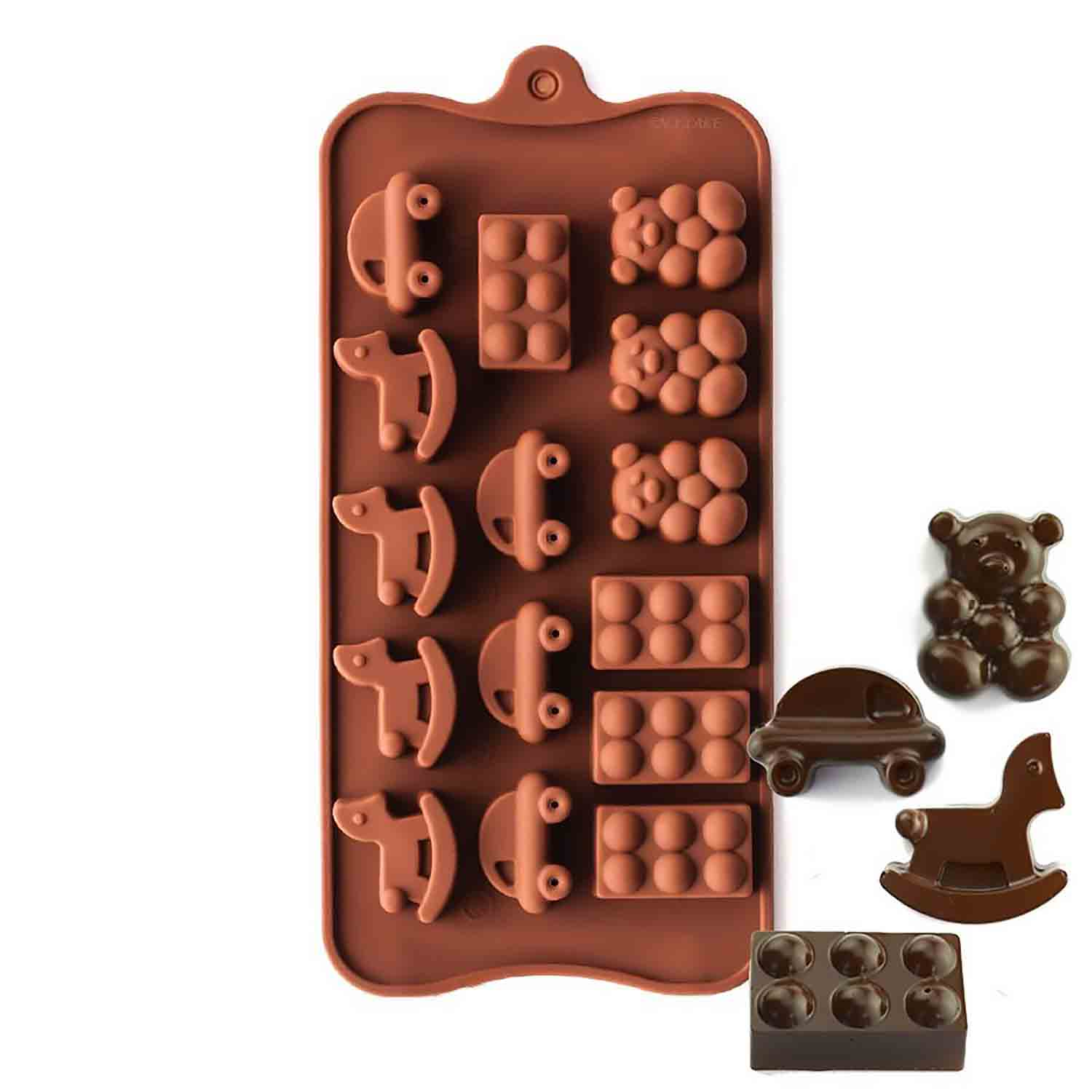 Playtime Silicone Chocolate Candy Mold