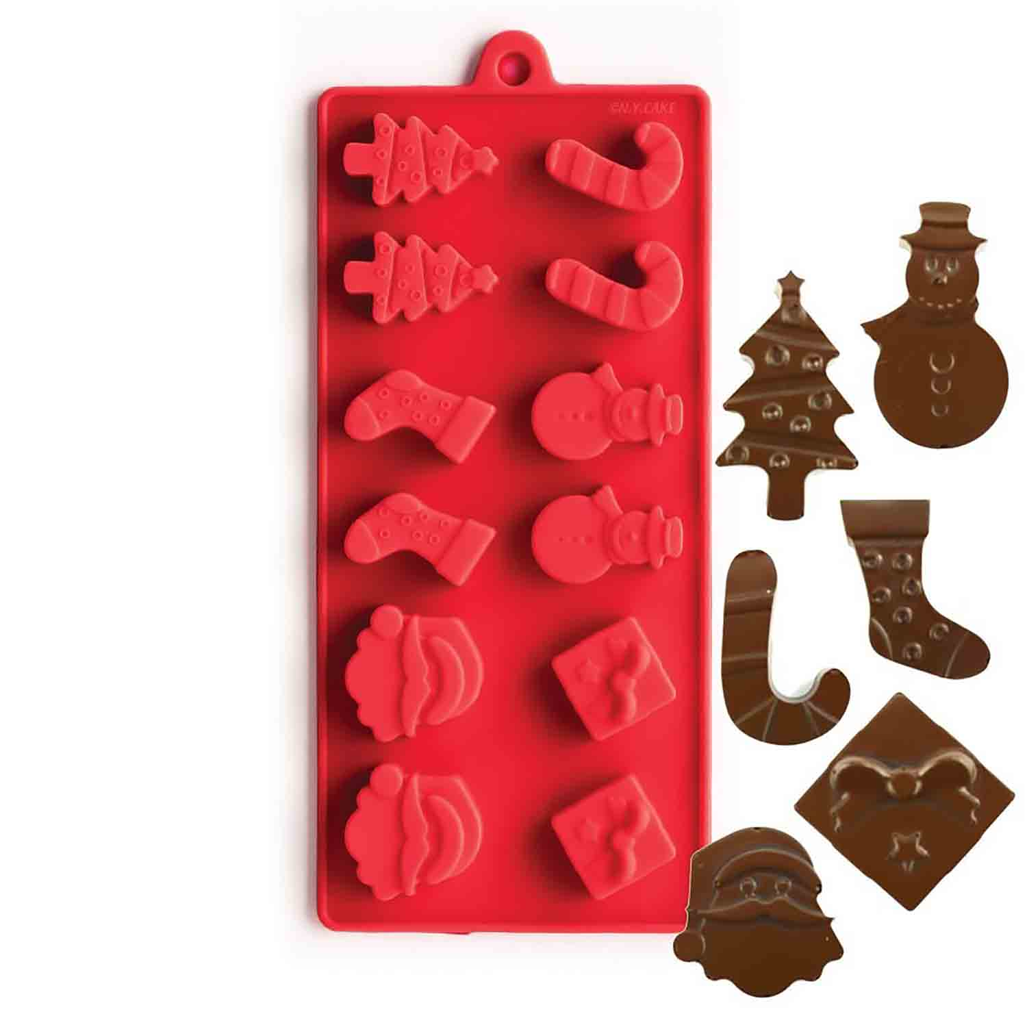 Christmas Silicone Chocolate Candy Mold