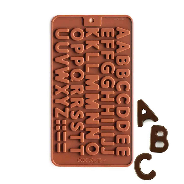 Mini Alphabet Silicone Chocolate Candy Mold