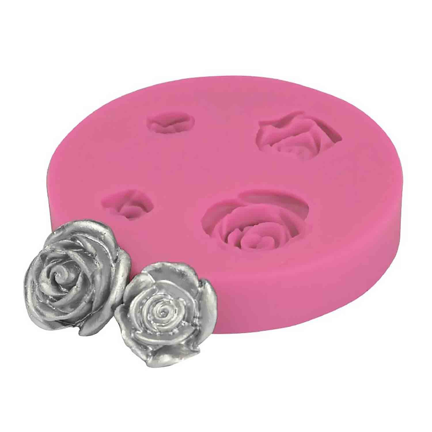 Assorted Rose Silicone Mold
